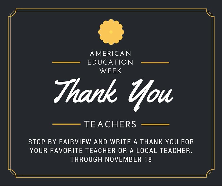 community involved american education week