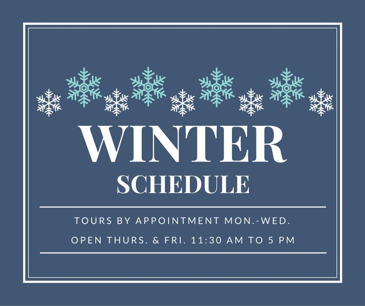 Winter Schedule