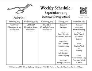 September 13-17